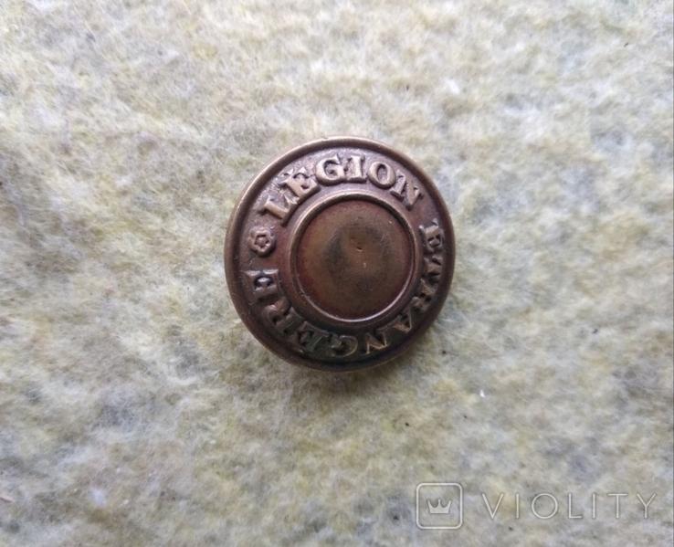 Пуговица Французский Иностранный Легион, фото №3