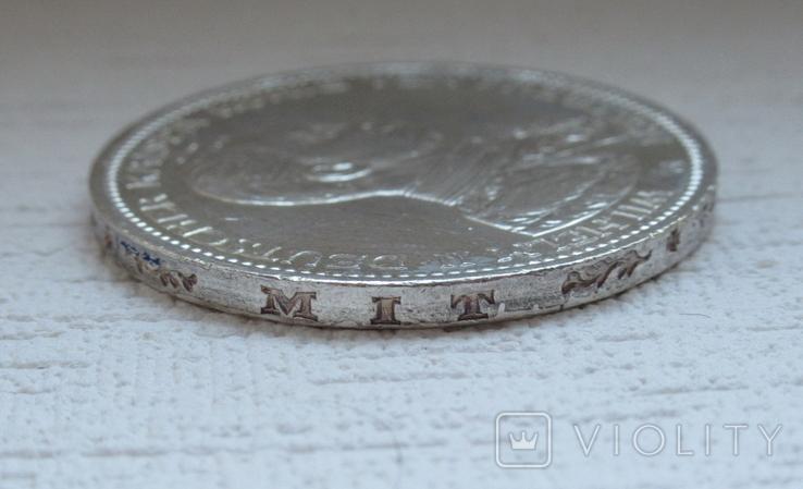 5 марок 1914 г. Пруссия, серебро, фото №11