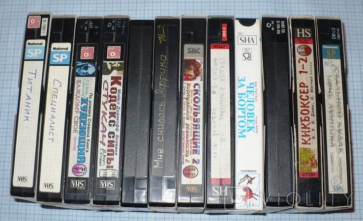 Видеокассеты 12 штук., фото №2