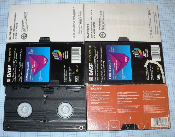 Видеокассеты 12 штук., фото №7