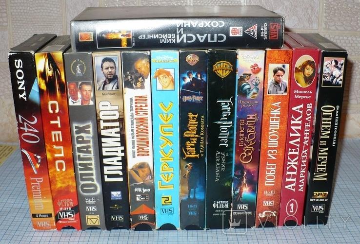 Видеокассеты 13 штук., фото №2