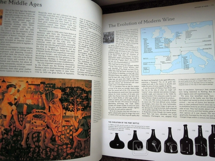 Книга The World Atlas of Wine, Hugh Johnson 2007 атлас вино, большая книга вина, фото №8