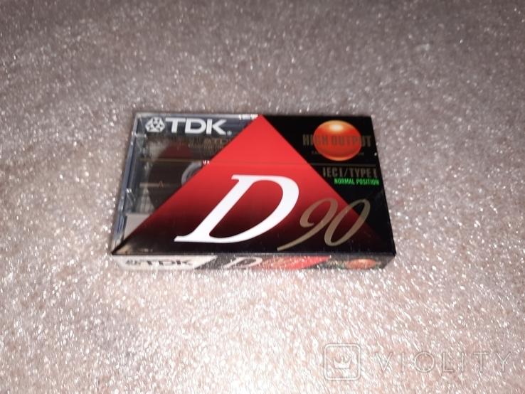Аудио касета TDK 90 США, фото №4