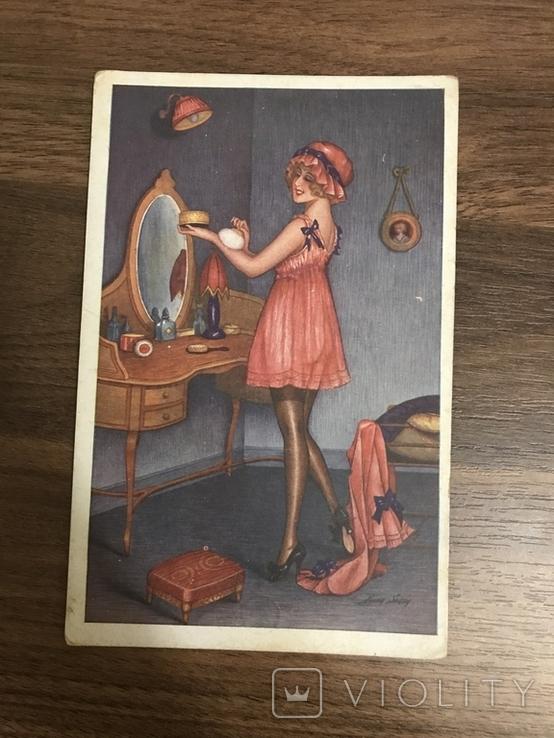 Открытка Париж Cabinet de Toilette Листівка, фото №2