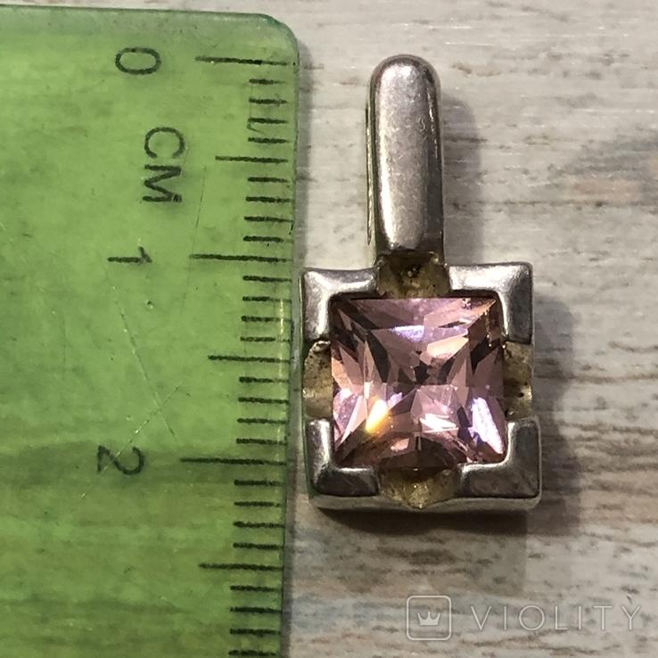 Кулон серебряный ( без пробы), фото №4