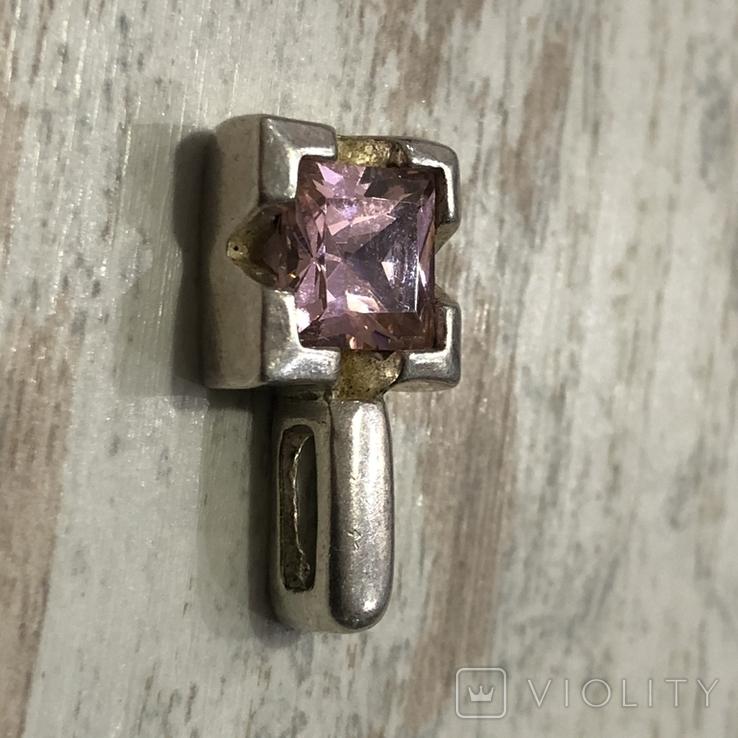 Кулон серебряный ( без пробы), фото №7