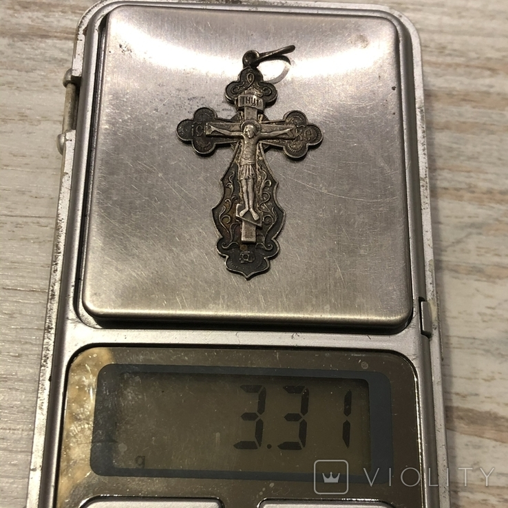Крест серебряный, фото №6