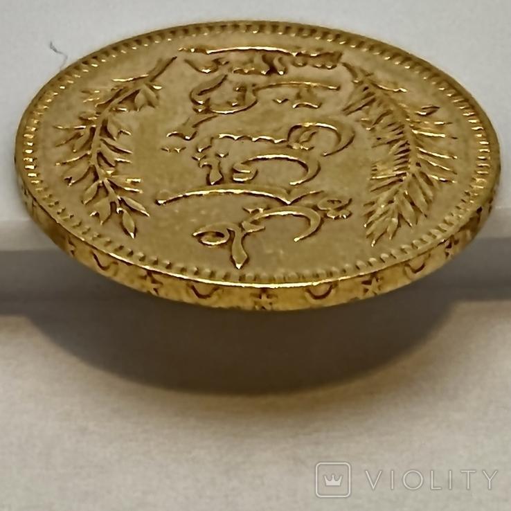 20 франков. 1892. Тунис (золото 900, вес 6,43 г), фото №10