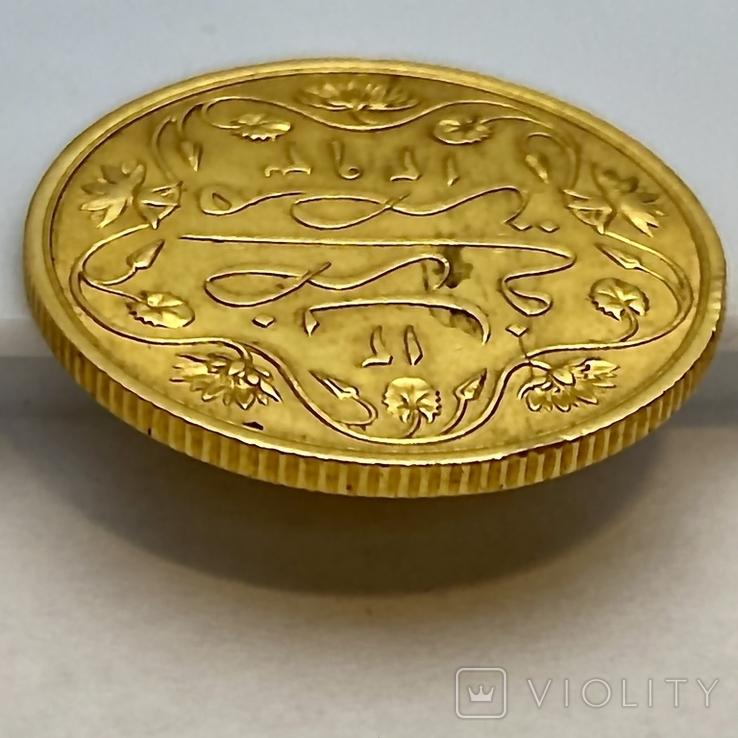 100 пиастров. Османский Египет. Abdul Hamid II 1293/12 AH  1876. (вес 8,49 г), фото №10