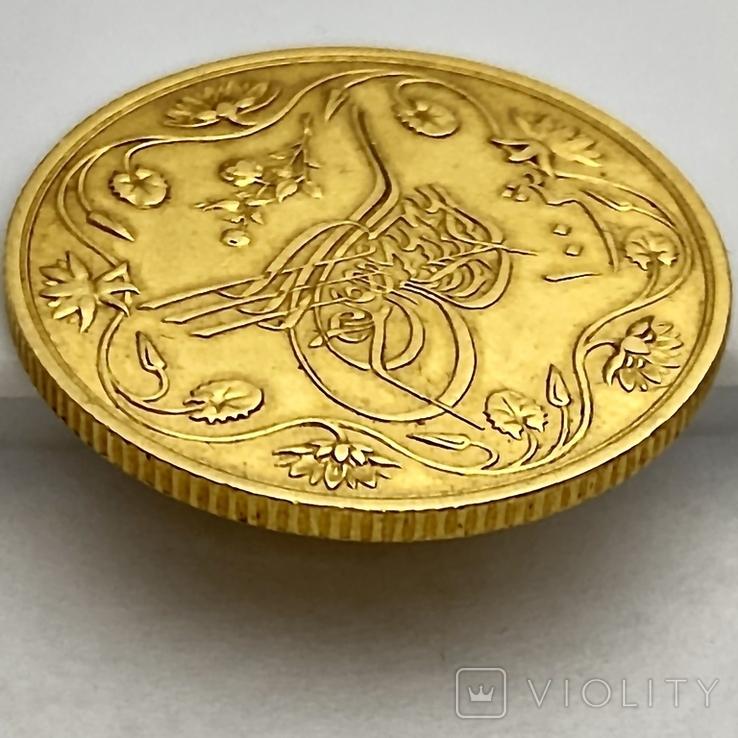 100 пиастров. Османский Египет. Abdul Hamid II 1293/12 AH  1876. (вес 8,49 г), фото №11