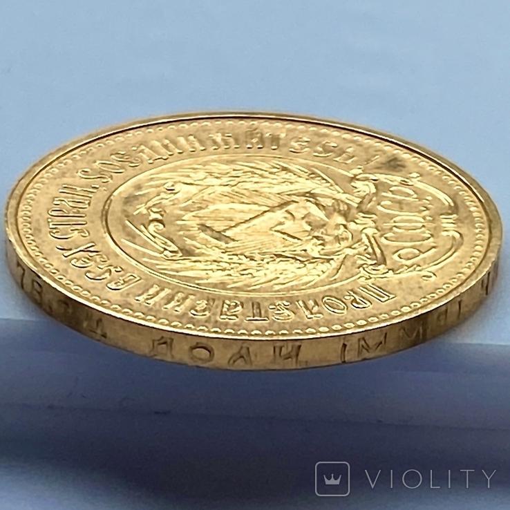 Один Червонец Сеятель. 1978. РСФСР (золото 900, вес 8,59 г), фото №8