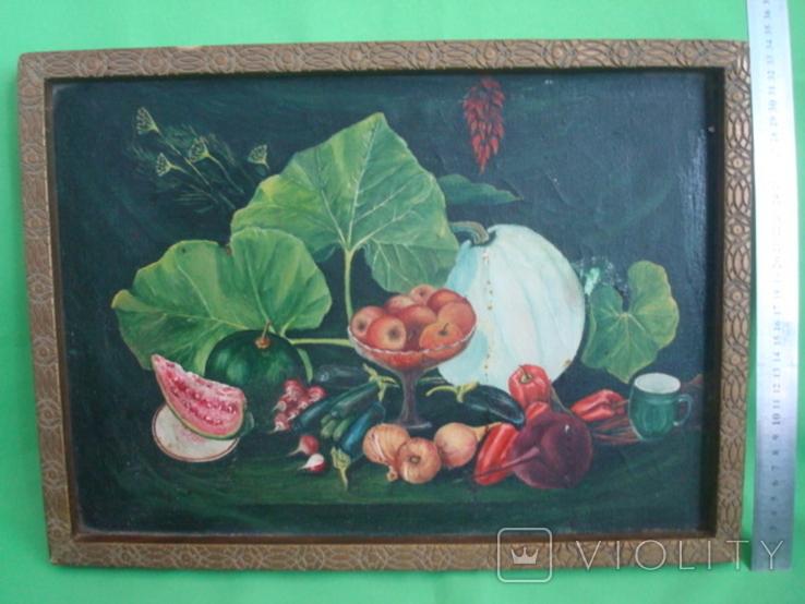 Натюрморт худ.П.Ф. Максименко 1987г., фото №2