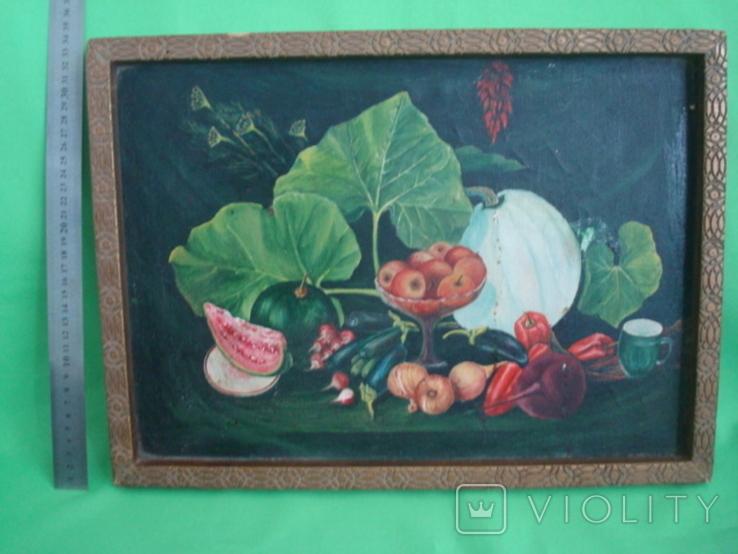 Натюрморт худ.П.Ф. Максименко 1987г., фото №3