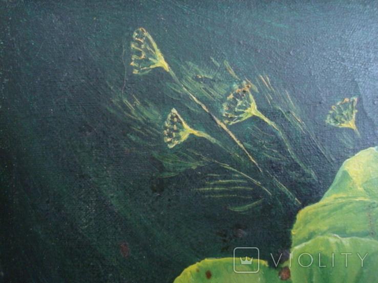 Натюрморт худ.П.Ф. Максименко 1987г., фото №4