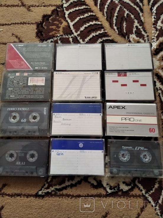 Лот аудиокассет, фото №3