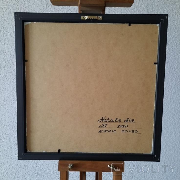 Картина живопис абстракція Fluid Art #27 acrylic, фото №11