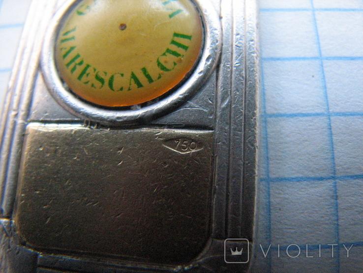 Брелок Galleria Marescalchi серебро 925 и вставка золото 750., фото №12