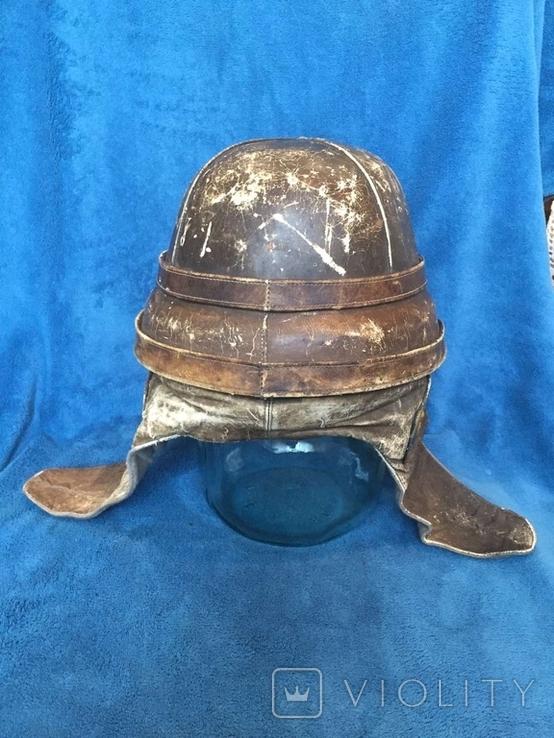 Шлем авиатора воздухоплавателя ПМВ, фото №3