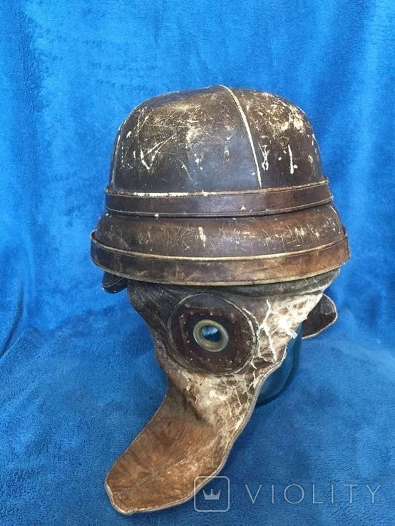 Шлем авиатора воздухоплавателя ПМВ, фото №4