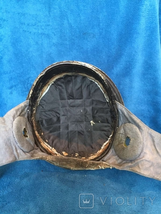 Шлем авиатора воздухоплавателя ПМВ, фото №9