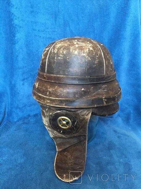 Шлем авиатора воздухоплавателя ПМВ, фото №13