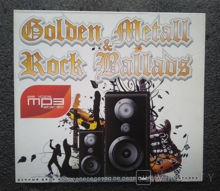 CD Рок-балади / Golden Metall. Rock Ballads, фото №2