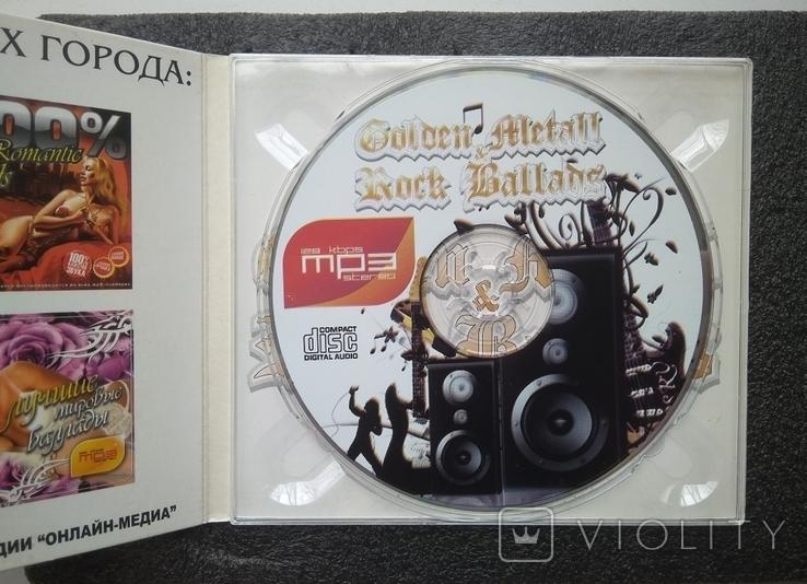 CD Рок-балади / Golden Metall. Rock Ballads, фото №3