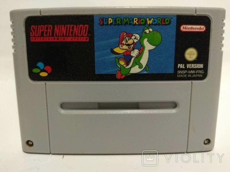 Super NINTENDO - Super Mario World, фото №2