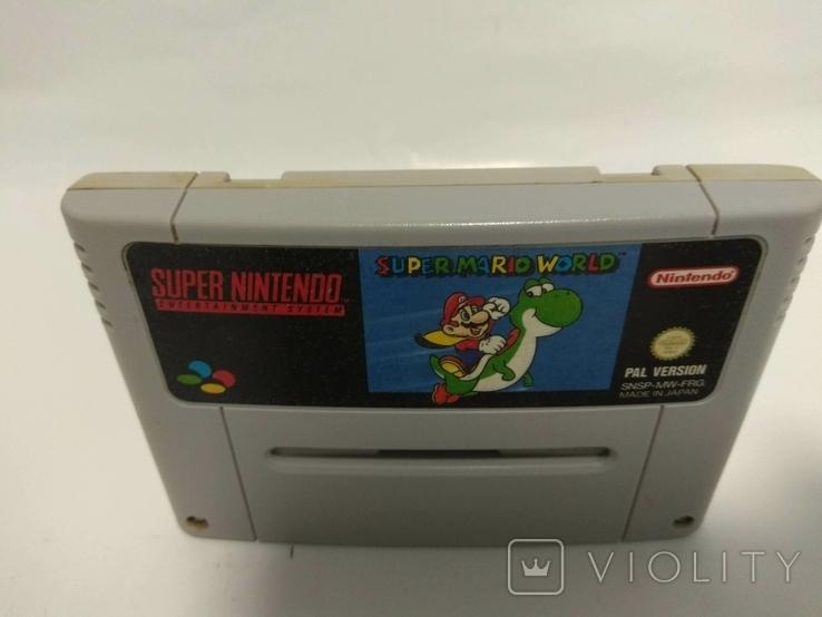 Super NINTENDO - Super Mario World, фото №3