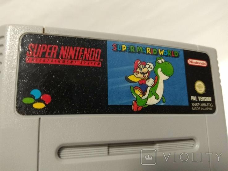 Super NINTENDO - Super Mario World, фото №7