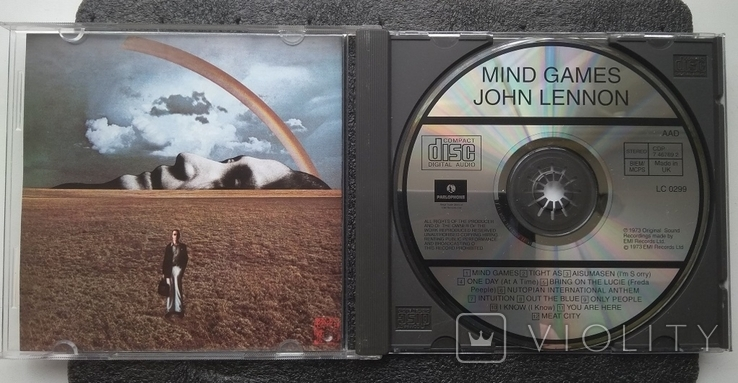 John Lennon. Mind Games / Джон Леннон. Ігри розуму., фото №3