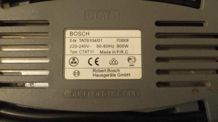 Тостер BOSCH TAT 6104, фото №3