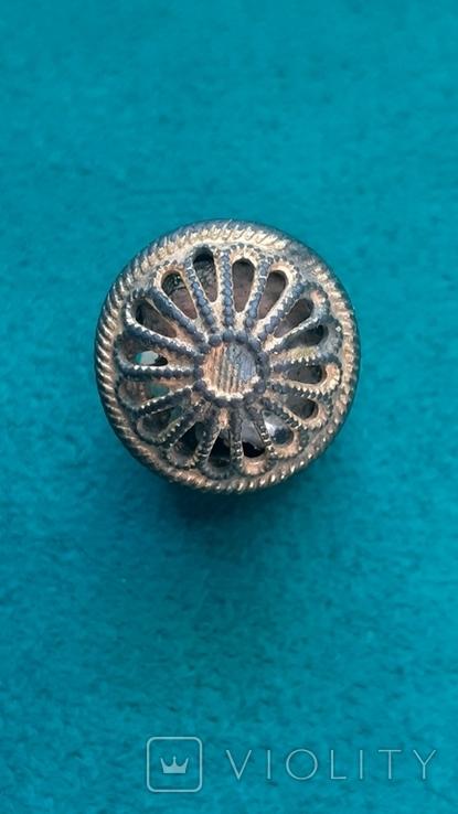 Пуговица кафтанная малая., фото №2
