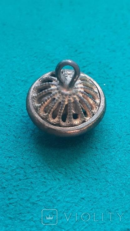 Пуговица кафтанная малая., фото №5