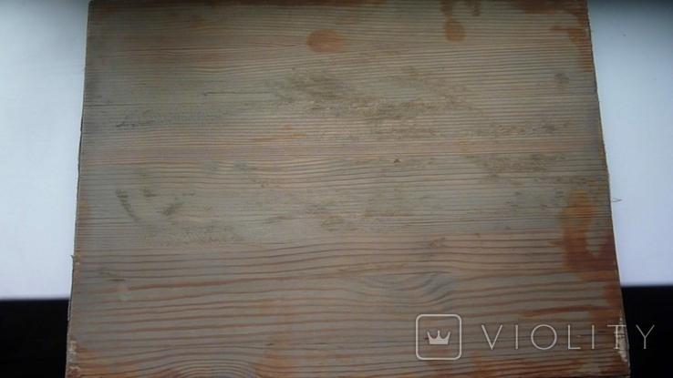 Икона Архангел Михаил Ковчег. Школьное письмо. 30 см х 40 см., фото №10