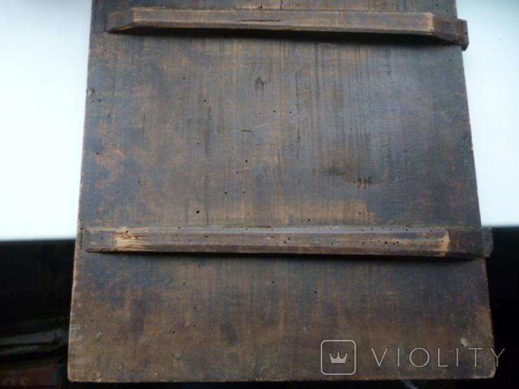 Икона Три Святых. 31 см х 38 см., фото №8