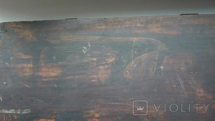 Икона Три Святых. 31 см х 38 см., фото №10