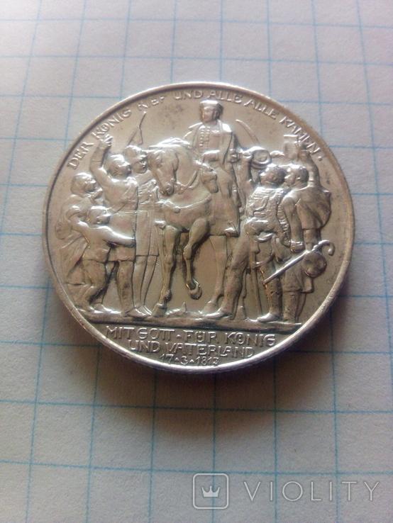 2 марки 1913 Битва народів, Битва під Лейпцигом, фото №2