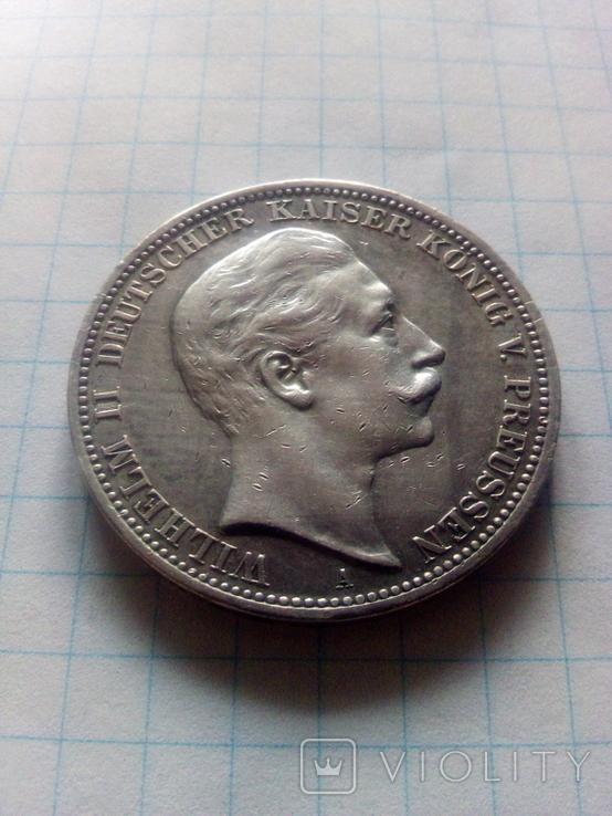 3 марки 1909 Прусія, фото №3