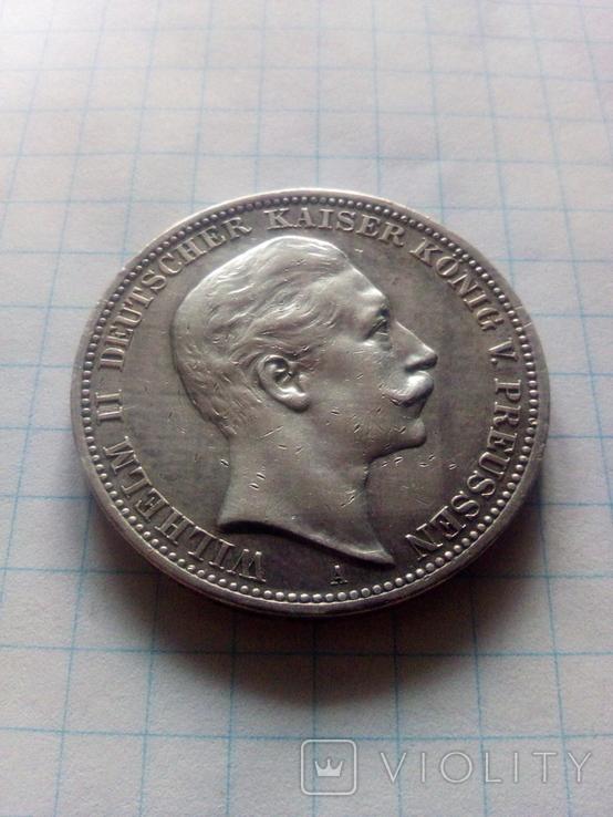 3 марки 1909 Прусія, фото №4