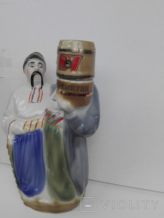 Фарфоровая штоф статуэтка. Кумы. Полонне., фото №5