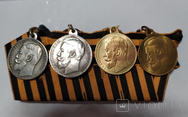 Полный бант медалей За храбрость.копии., фото №3