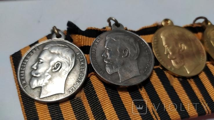 Полный бант медалей За храбрость.копии., фото №4
