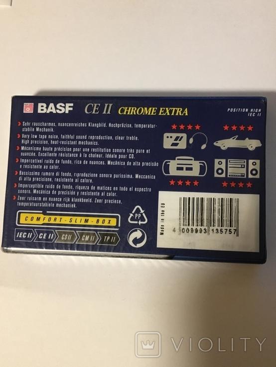 Аудио кассета BASF CE II CROME EXTRA 90, фото №3