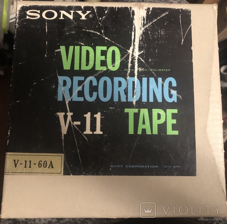 Видеолента Sony V-11-60A, новая., фото №2