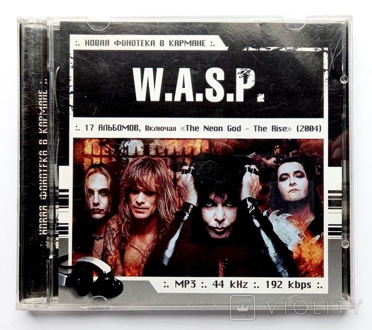 W. A. S. P. MP3. 17 альбомов. Heavy metal., фото №2