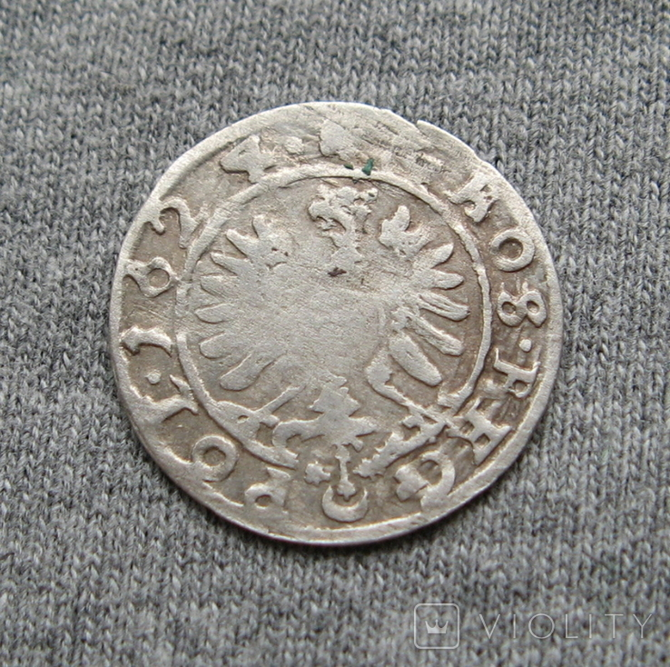 Коронный грош 1624 года. Сиг. ІІІ Ваза ( POL )., фото №3