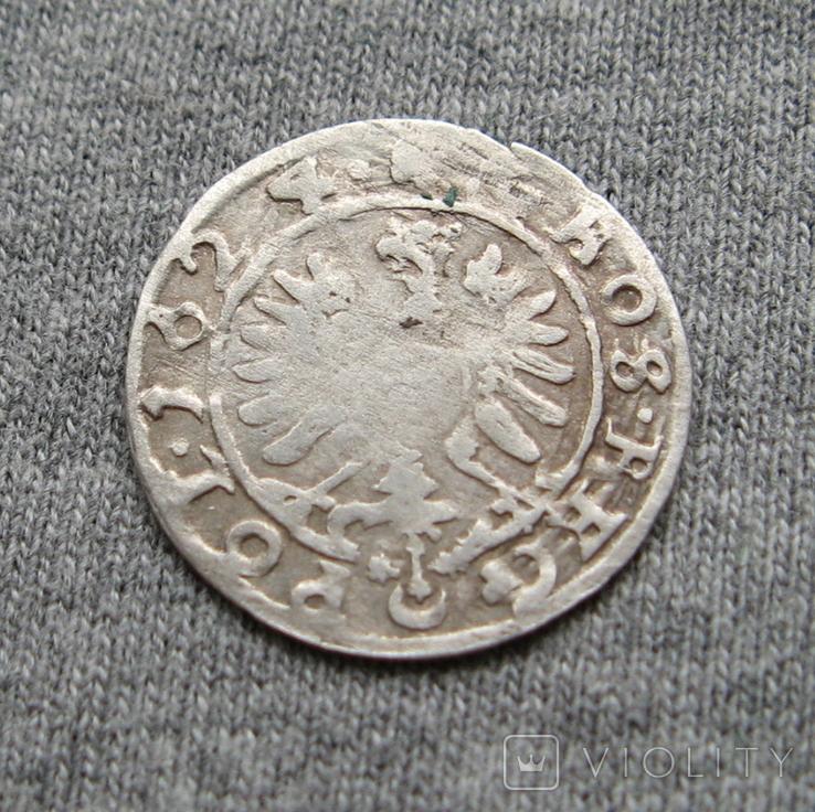 Коронный грош 1624 года. Сиг. ІІІ Ваза ( POL )., фото №5