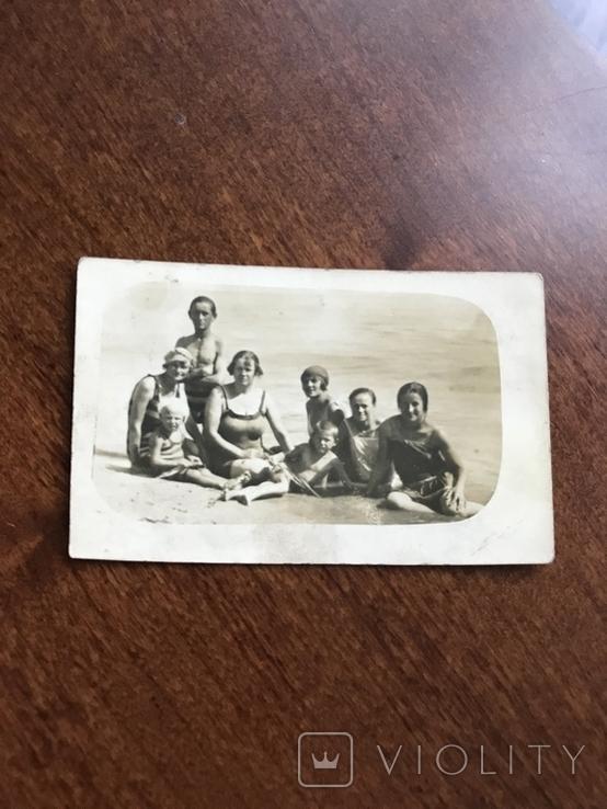 1927 Одесса Пляж Лузановка Купальники Мода 20х, фото №7