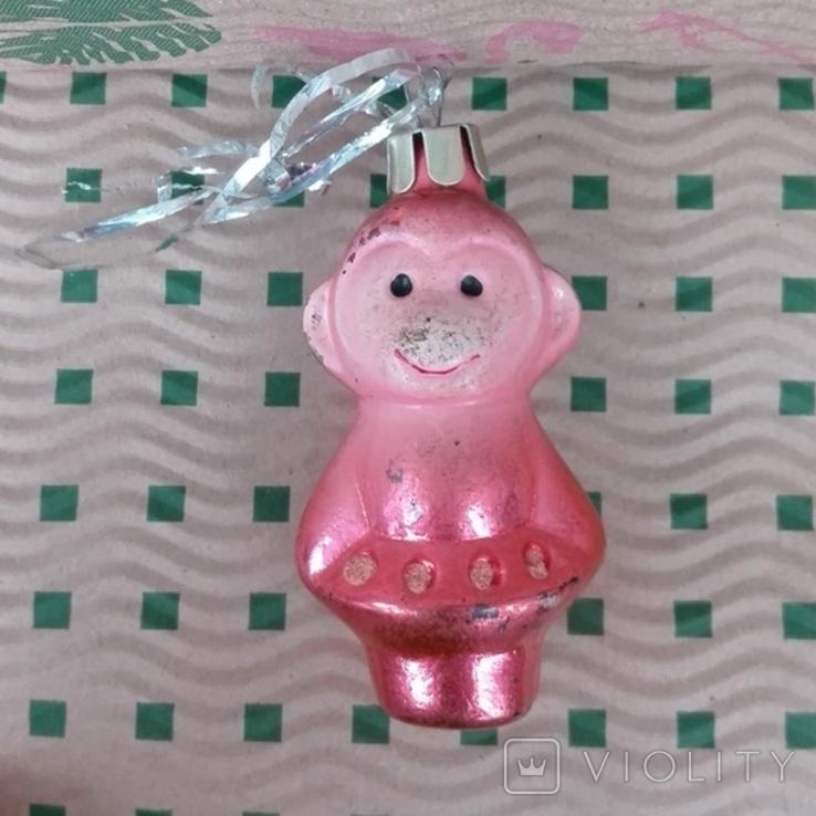 Ёлочные игрушки времён СССР.Ялинкові прикраси, фото №6